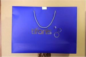 bolsas de lujo ecologicas azules