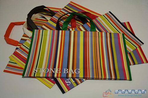 bolsas de papel ecológico modelo Stonebag