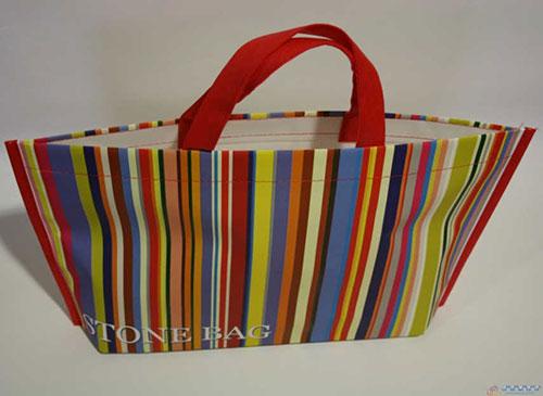 fábrica de bolsas ecológicas de papel o de tela modelo stonebag