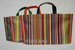 bolsas de tela ecológicas serigrafiadas con mi logo modelo stonebag