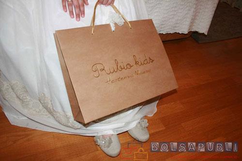 bolsas ecológicas de lujo en papel personalizadas
