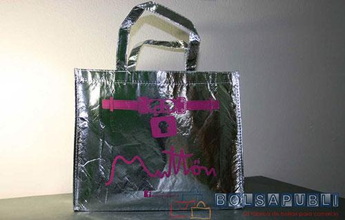 bolsas de tela personalizadas de rafia