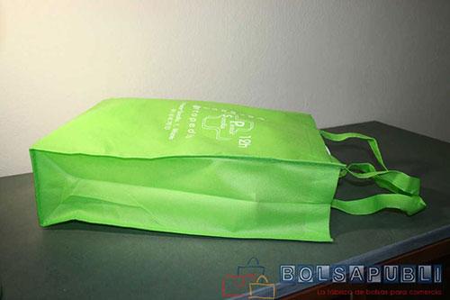 bolsas ecologicas de tela para comercio verdes