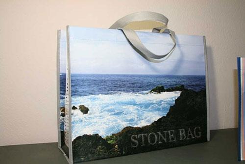 bolsas de tela para comercio modelo Stonebag