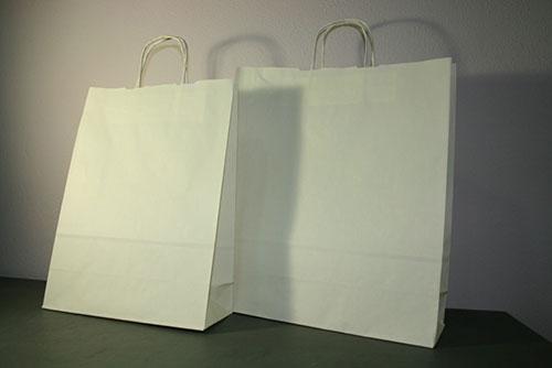 bolsas de papel marfil ecológicas resistentes