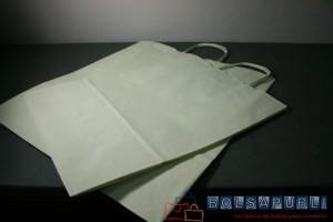 Bolsas ecologicas de papel asa rizada