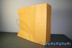 Bolsas ecológicas de papel ocre