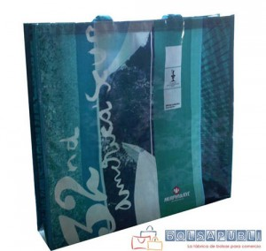 bolsas ecologicas de papel o tela de rafia