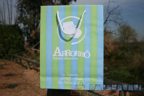 Comprar bolsas de papel ecologicas impresas con asa de cordon