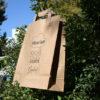 Bolsas de Papel Reciclado Asa Plana Exterior