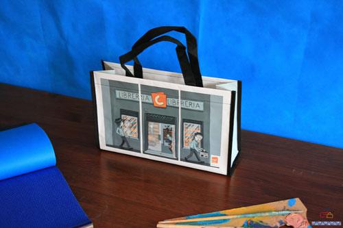 Bolsas de Rafia librería