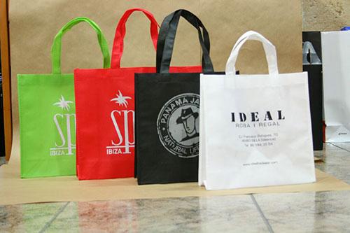 bolsas de tela en sevilla personalizadas