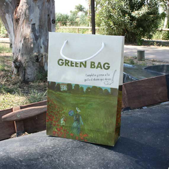 bolsa de papel + greenbag