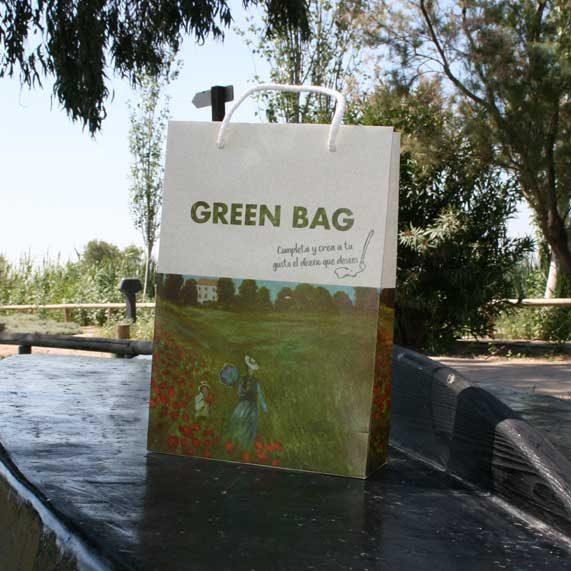 bolsa de papel + greenba