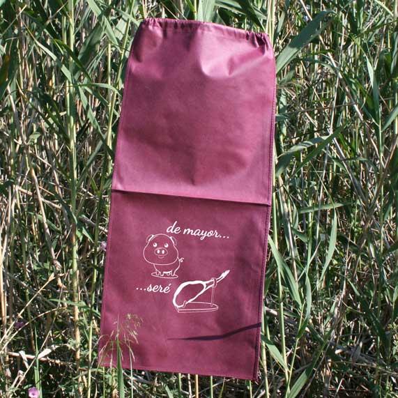 bolsa de tst + jamonero granate
