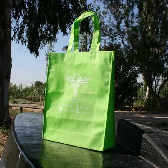 Bolsa de Tela Tst Plegable Verde Pistacho