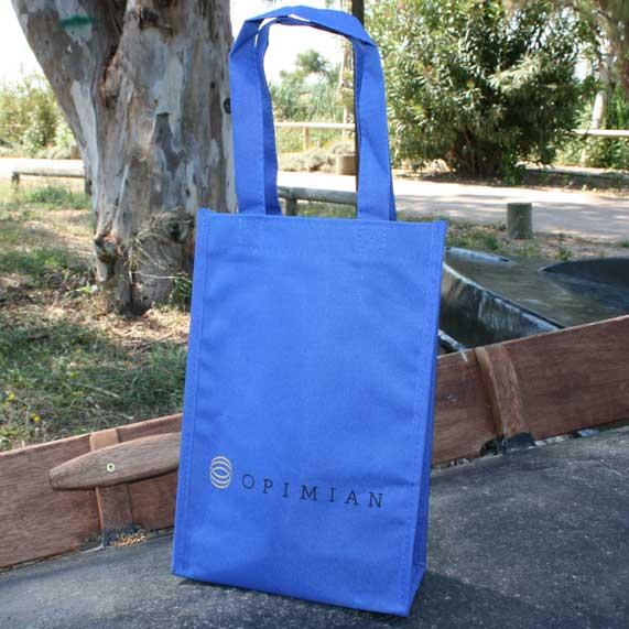 bolsa + ecologica reciclable azul